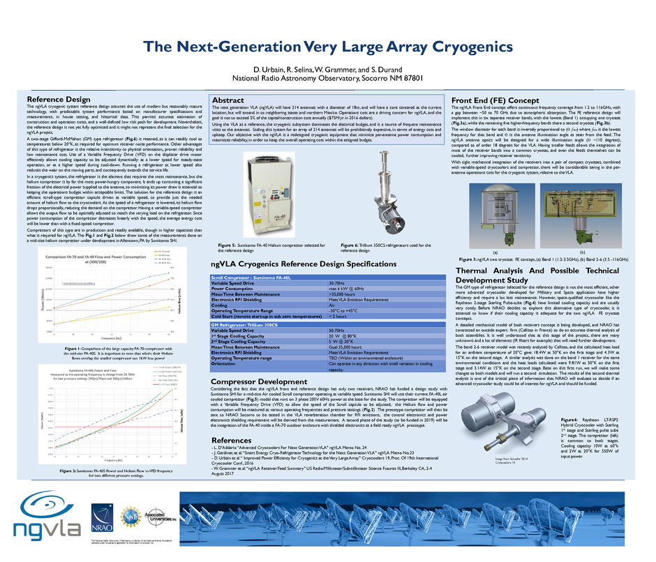 The Next-Generation Very Large Array Cryogenics